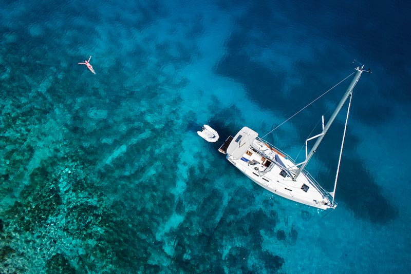 Sailing cruises in Chalkidiki